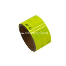 DOT-C2 fluorsent yellow reflective sheeting